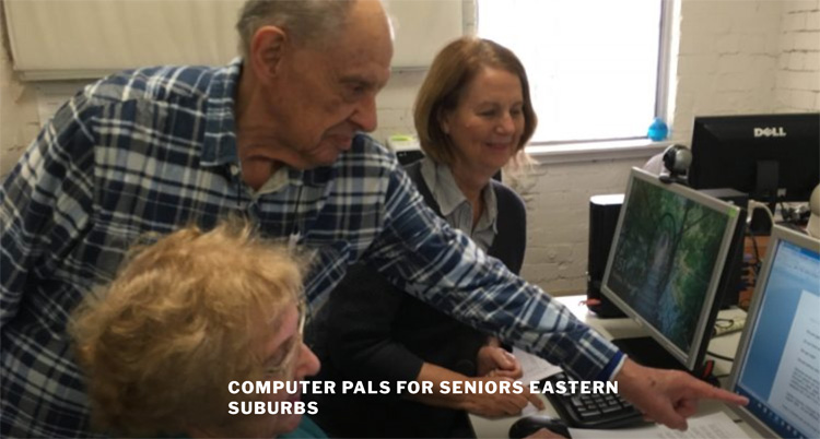 Computer Pals for seniors Eastern Suburbs